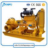 L'irrigation agricole Moteur diesel pompes à eau centrifuge de cas de fractionnement