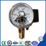 60mmのセリウムが付いている電気接触の溶解の圧力計