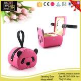 Boîte de bijoux de cuir de mode de panda (8047)