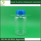 Animale domestico 175ml Clear Pharmaceutical Bottle con Flip Top Cap