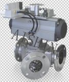 Перекрывной клапан (необходимый для пневматической перевозки)
