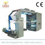 6カラーPP/Nonによって編まれるファブリックFlexoプリンター機械