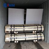 Np RP PK UHP GrafietElektrode voor de Uitsmelting van de Oven van de Elektrische Boog met Uitsteeksels