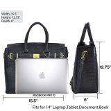 borse del progettista delle borse della donna delle borse della signora Handbag Women Bag PU Leather della borsa delle signore di sacchetti di modo (WDL0379)