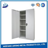 Metal de hoja del OEM que estampa piezas de la fabricación del soporte de estante de las manetas de clasificación