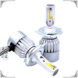 공장 도매가 자동차에서 LED 표시등 막대는 숨겼다 7600lm 차 LED 헤드라이트와 자동차 부속용품 빛 (H1 H3 H4 H7 H8 H9 H11 H13)를 가진 밸러스트 55W를