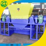 Triturador de eixo duplo para plástico/pneu/resíduos de cozinha/espuma/resíduos municipais/Osso Animal/Sucata