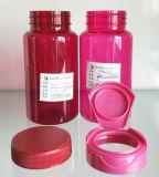 MD-131 frasco redondo vermelho do ombro do animal de estimação 225ml