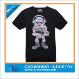 T-shirt manches courtes à manches courtes pour hommes avec imprimé sérigraphique Logo