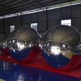 [غينت] مستديرة قابل للنفخ زخرفة مرآة كرة لأنّ حزب