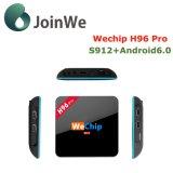 PRO Android 6.0 S912 da caixa da tevê H96