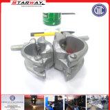Tubo di sollevamento di vetro del tubo flessibile di precisione di Stainles di acciaio del metallo su ordinazione della lamiera