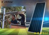 luz de calle Solar-Accionada 80W del LED que detecta la lámpara solar de la luz del sol