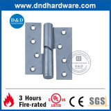 La bisagra que caía del acero inoxidable para la puerta con la UL enumeró (DDSS017)