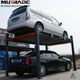 Quatre Post Inteligent Solution Parking pour utilisation à domicile