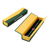 牽引の部分によってセットアップされる堅いカスタムペーパーギフトの宝石類包装ボックス