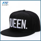 Custom 3D Logotipo Embrodiery Borda Plana homens Snapback Hat