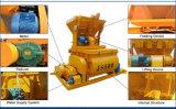 Prix de machine concrète de construction de mélangeur jumeau d'arbre à vendre