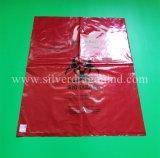 Мешок Biohazard, мешок Inflectious медицинский неныжный, LDPE/HDPE/PP