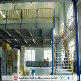 Estantes de montagem em rack mezanino do depósito e da plataforma