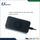 Black Housing Qi Standard를 가진 지적인 Single Coil Wireless Charger