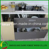 Design moderno MDF laca de armários de cozinha