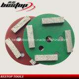 D100mm Diamond Concrete and Stone abrasivo disco polimento Roda