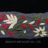 Merletto multicolore del ricamo dei vestiti del vestito dalla tessile del tessuto delle guarnizioni del merletto di modo