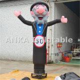 El hombre inflable del aire Sky Dancer viejo abuelo
