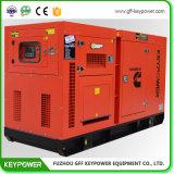 Бесшумный дизельного генератора Генератор переменного тока Stamford с топливного бака на раме