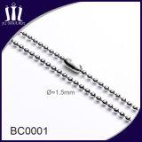 Rouleau de chaîne à boule en acier inoxydable de qualité supérieure de 1,5 mm