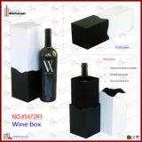 Único regalo de la botella que empaqueta la caja del vino (5693)