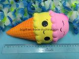 PU-Squishy Eiscreme-Smiley Squeezable riesiges langsames steigendes Spielzeug