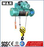 M&Rのための1000kgワイヤーロープ起重機