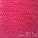 Composé 100% à la maison de tissu de velours de textile de polyester avec le traitement gravant en relief
