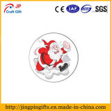 Chaussettes de haute qualité personnalisée Forme insigne métallique