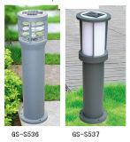 Éclairage solaire rechargeable extérieur de pelouse de DEL pour la lumière rurale pour la route résidentielle