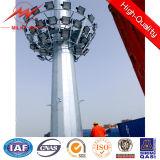 Alta torre modificada para requisitos particulares de poste de iluminación del mástil de los 25m