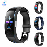 P3 Smart ECG de soutien des bandes+PPG la pression artérielle heart rate monitoring étanches IP67 Bracelet Fitness Sports de podomètre