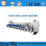 Novo Tipo Automatlic PE PP etiqueta de papel Flexo máquina de impressão