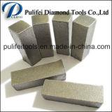 Segmento de moedura do diamante das máquina ferramenta de Grinidng do assoalho para o concreto