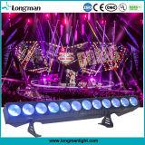 o clube noturno dos antolhos da ESPIGA do diodo emissor de luz de 300W Rgbaw 5in1 efetua a iluminação