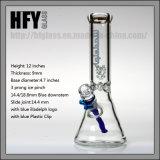 Beker 9mm van Illadelph van Hfy Waterpijp van het Glas van de Waterpijp van de Dikte de Rokende