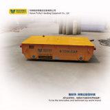 Vagón de la transferencia de la rueda de acero Carro de transporte ferroviario en la industria naval