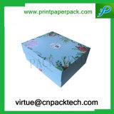 Rectángulos de empaquetado modificados para requisitos particulares del perfume de la botella de la cartulina con la impresión de la insignia