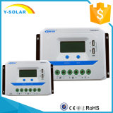 regulador solar de 48V/36V/24V/12V Epsolar 60A con USB/2.4A dual Vs6048au
