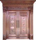 Woodwin New Design Handwork de qualidade superior Porta de cobre puro