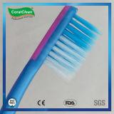 Escova de dentes para crianças de desenhos animados com pequeno presente