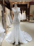 Mermaid Trumpet V Neck Real Sample Wedding Dress