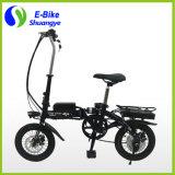 공장 가격 14 인치 단 하나 속도 전기 접히는 자전거